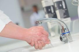 Touchless handwashing