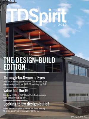 Magazine cover for TDSpirit 2019