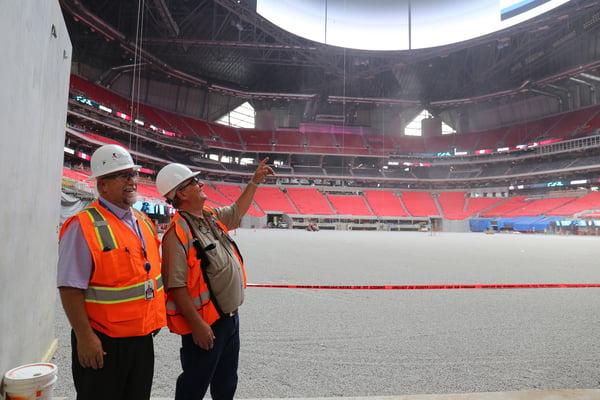 Mercedes-Benz Stadium Atlanta Falcons