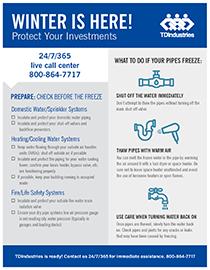 Image for Freeze Preparation Checklist