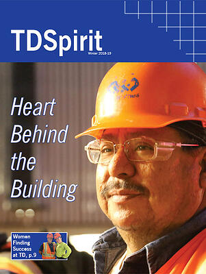 Magazine cover for TDSpirit Fall/Winter 2018