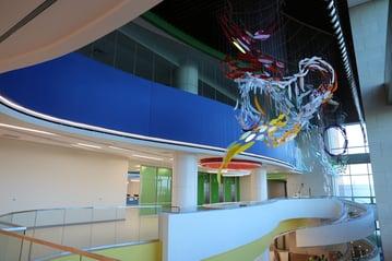 Texas Scottish Rite Hospital atrium