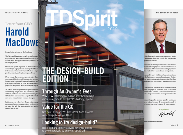 Image of a magazine for TDSpirit 2019