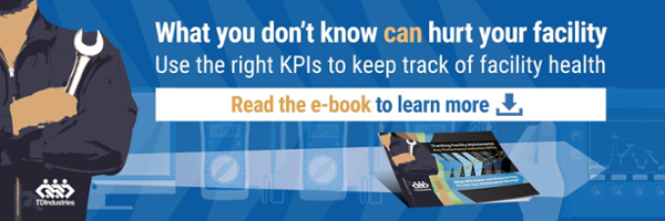 Use the right KPIs to keep track of facility health. Read the e-book to learn more.