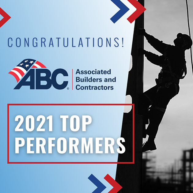 Image for TDIndustries Recognized by Associated Builders and Contractors as a Top-Performing U.S. Construction Company