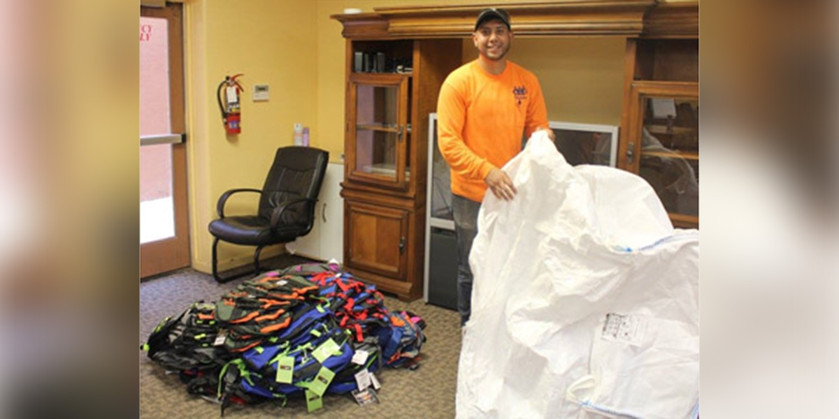 Image for TDPartners Help Deliver $10,000 of School Supplies with the ABA