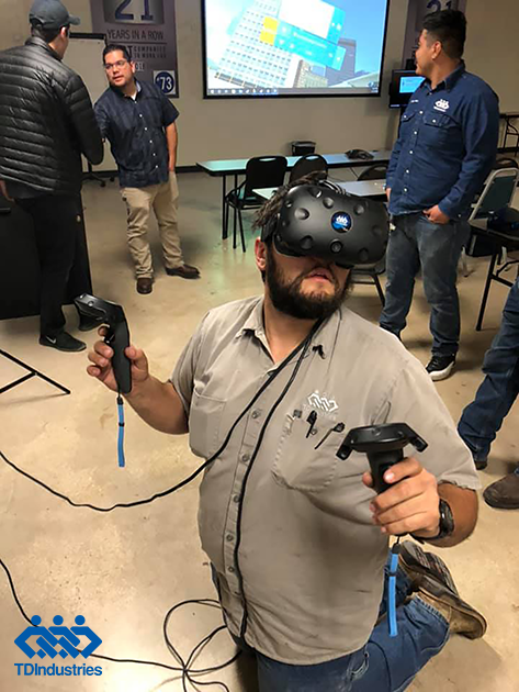 Image for TD Uses Virtual Reality Technology to Enhance HVAC Service Learning