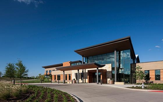 Healthcare Construction Texas Health Recovery & Wellness Center