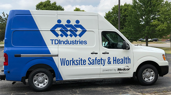 Image for Safety on Wheels – TDIndustries' Mobile Medics Deliver Job Site Health Support