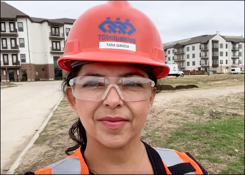 Image for Women's History Month and Women in Construction Week with TD Partner Tara Garcia