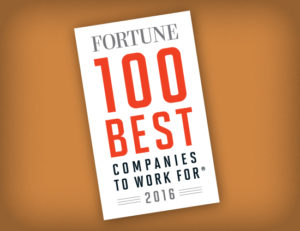 19th Consecutive year of being on Fortune magazine's