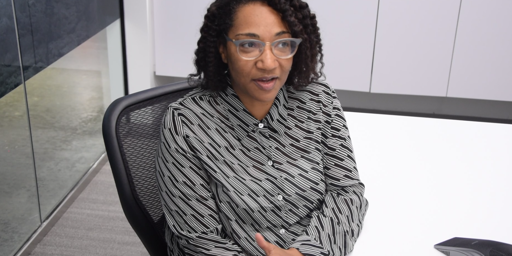 Image for Leslie Morgan Has Her Sight Set On Becoming A Leader At TD