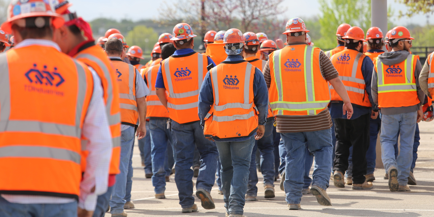 Image for Celebrating National Tradesmen Day at TDIndustries